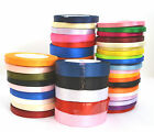 22 Mtr's of Satin Ribbon - 20mm...10MM...6MM width...Various Colours