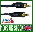 3.5mm Stereo Jack 30cm 50cm 1m 2m 3m 5m Cable Lead Connect mobile phone to car