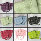 TIE ON DOTTY CHUNKY SEAT PAD DINING ROOM GARDEN KITCHEN CHAIR CUSHION OUTDOOR