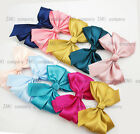 1PC Of Satin Hair Bows Hair Clip Girls Hair Accessory Boutique With Knot