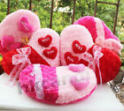 HOT wedding gifts heart rose Rose velvet hold pillow Valentine's gift