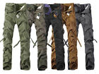 Hot! Casual Military Army Cargo Camo Combat Work Pants Trousers 29-38 MF-3609