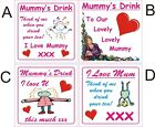 I love Mum Mummy coaster great idea for christmas gift birthday present