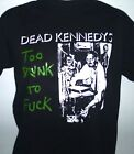 DEAD KENNEDYS TOO DRUNK TO..... MENS  MUSIC T SHIRT