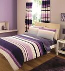 8 Pcs Duvet Cover Set With Matching Curtains and FITTED Sheet ! DOUBLE KING