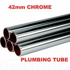 42mm Chrome Plumbing Pipe 42mm Chrome Pipe Lengths from 1300mm to 2000mm *