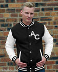 NEW CUSTOMABLE VARSITY BASEBALL SWEATER JACKET COLLEGE STYLE LETTERMAN S to XXL
