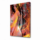 0186 Erotic Canvas Sexy Abstract Naked Nude Modern Wall Print