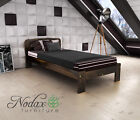 "*NODAX* Wooden Furniture Solid Pine Single Bedframe 3ft UK Size - 4 Colours ""F4"""