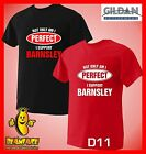 BARNSLEY T SHIRT Not Only Perfect football sport fc funny T SHIRT small to 5XL