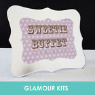 PERSONALISED RETRO SWEET SHOP SWEETIE CANDY BAR BUFFET STAR TABLE SIGN 13 colour