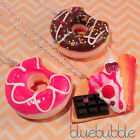 FUNKY JUNK FOOD NECKLACE CUTE KITSCH KAWAII RETRO POP STYLE FASHION STATEMENT