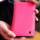 GK Korean Lady Women PU Leather Zipper Closure Wallet Purse Bag Cellphone Bag