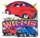 1941 WILLYS STREET ROD DRAG CAR GASSER SWEATSHIRT C151