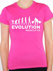 EVOLUTION WEIGHTLIFTER - Weight Training / Body Building Themed Women's T-Shirt