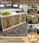 Tetbury Hallway Storage Bench with Large Baskets, Hallway furniture, *BARGAIN*