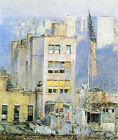 Art Photo Print - Flag 5th Avenue - Hassam Childe 1859 1935