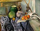 Art Photo Print - Still Life With Ginger Jar And Eggplants - Paul Cezanne 1860 1