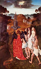 Art Print - Ascension Of Elect - Dieric Bouts 1420 1475