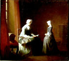 Art Photo Print - Good Education - Chardin Jean Baptiste Simeon 1699 1779