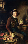 Photo/Poster - The Pumpkin Seller - Hermann Kern 1839 1912