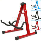 Universal Folding A-Frame Electric Acoustic Bass Guitar Floor Stand Holder New