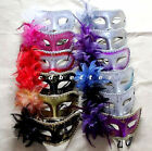 Bling Venetian Costume Party Prom Masquerade Eye Mask With Flower  STYLES 4 Lady