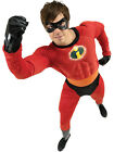 Adult Disney Mr Incredible Fancy Dress Costume Superhero Pixar The Incredibles