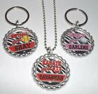 Sports Girl Zebra Personalized Flattened Bottlecap Necklace or Keychain