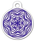 CELTIC STARBURST - Custom Personalized Pet ID Tag for Dog and Cat Collars