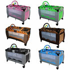 Infant Baby Child Travel Bed Cot Bassinet Play Pen Playpen With Entryway New