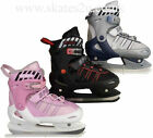 New Childrens Adjustable Ice Hockey Skates UK12 to UK7