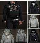 New 2012 Hollister From Abercrombie Men's Hoodies  NWT M $89 Navy, Heather Gray