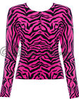 ZEBRA CARDIGAN BLACK PINK ROCKABILLY FIFTIES RETRO VINTAGE VOODOO VIXEN NEW
