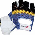 Weight Lifting Gloves Leather Fitness Training Crochet