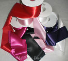 100mm Luxurious Single Satin Sash Ribbon In Various Colours, Lengths.