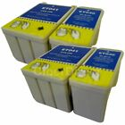 4 Non-OEM Replacements for Epson T040/T041 Printer Ink Cartridges.UK VAT Invoice