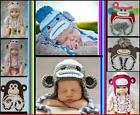 Baby Boy Girl Crochet Animal Beanie Costume Hat Cute Cap Great Baby Winter Gift