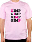 GIMP - Funny / Rude / Mask / Novelty / Humorous Themed Mens T-Shirt