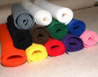 "Wool Felt 1mm thick 30% wool blend 36"" wide cut from the roll per 1/2 metre"