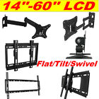 Slim/Tilt/ Swivel/Flat/ PLASMA LED LCD TV WALL MOUNT BRACKET FOR SAMSUNG SONY LG