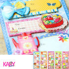 Cute 3D Label Tag Stickers Use For Giving Gift Thanks Card Scrapbooking 3D003