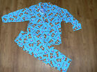 BABY / TODDLER & BOYS DISNEY TIGGER PRINT BLUE WINCEYETTE  COTTON PYJAMAS BNWT