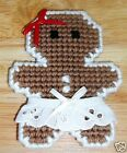 GINGERBREAD ORNAMENTS~MAGNETS~PINS~Handstitched~Gender-Color Vary~NEW~FREE SHIP