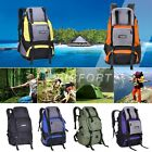 Men women outdoor travel backpack hiking Camping sport waterproof 40L+5L cpv