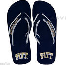 Pittsburgh Panthers Men's Mesh Cotton Strap Officially Licensed Pitt Flip Flops