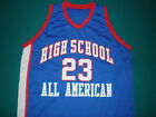 LEBRON JAMES HIGH SCHOOL ALL AMERICAN BASKETBALL JERSEY NEW SEWN ANY SIZE