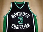 KEVIN DURANT MONTROSE HIGH SCHOOL BASKETBALL JERSEY QUALITY NEW SEWN ANY SIZE