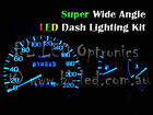 White Blue Red Green Pink UV LED Dash Kit Fits Ford Falcon EL EF Fairlane NL NF