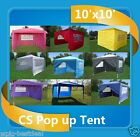 CS Series - 10'x10' Pop Up Canopy Party Tent EZ CS - 10 Colors Available